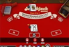 Play Blackjack Bonus at Midaur Casino
