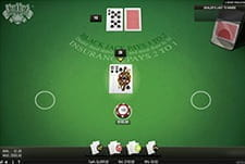 Blackjack Classic by NetEnt in-game play view