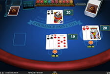 Classic Blackjack Multi Hand from Microgaming