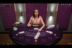 Karamba Live Blackjack Diamond VIP