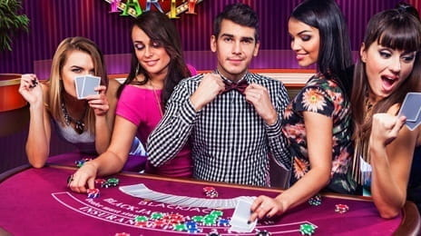 Blackjack Party with Live Dealers