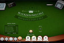 Blackjack Title from iSoftBet