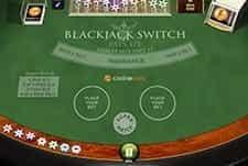 Blackjack Switch at Casino.com.