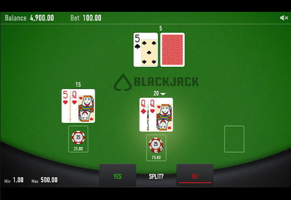 Blackjack Neo demo version gameplay.