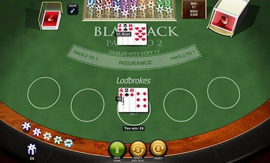 Blackjack Pro from Playtech