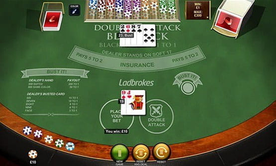 Double Attack Blackjack by Playtech