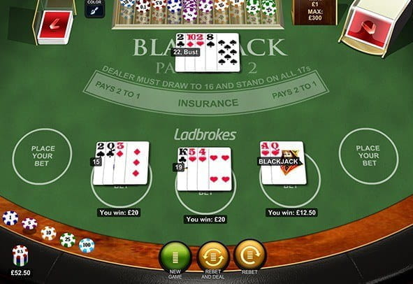 Play Blackjack UK – Free Embedded Game