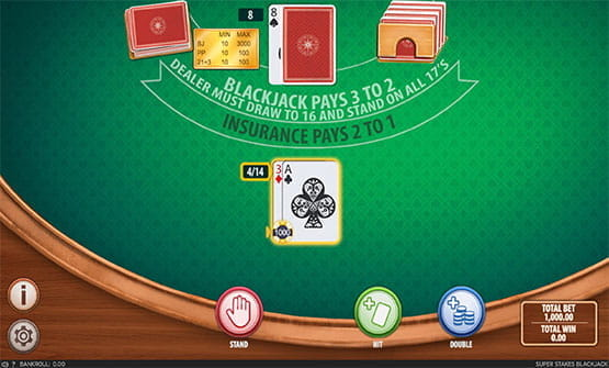 Super Stakes Blackjack game by Section 8 Studio.