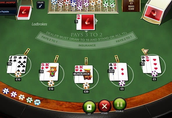 Play Progressive Blackjack Online at Casino.com NZ
