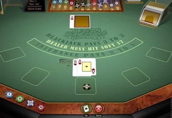online free blackjack games casino