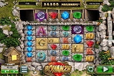 In-game view of the Bonanza slot