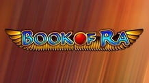 Promotional image of the Book of Ra slot from Novomatic
