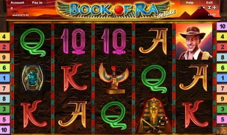 Image showing the Book of Ra slot