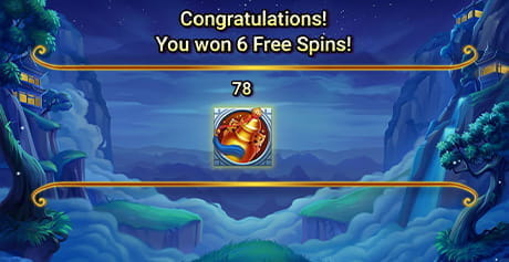The Free Spins feature in Goddess of the Moon by Booongo.