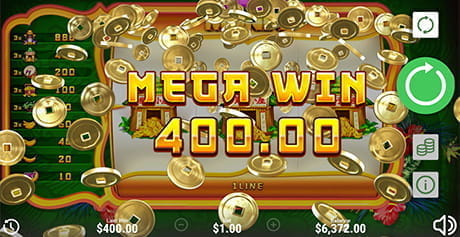 The Mega Win feature in Monkey Money by Booongo.