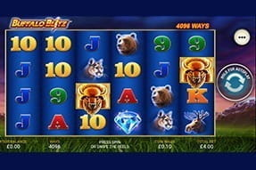 Buffalo Blitz on the William Hill casino app.