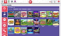 Some of the slot games playable at Buzz Bingo