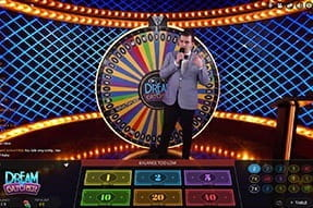 A game of live dream catcher at bwin casino