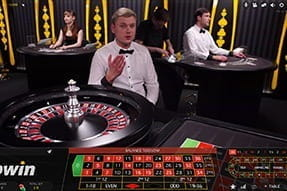 A game of live dealer roulette at bwin casino