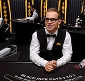 Gary, a live dealer at bwin casino