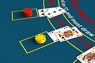 Image showing casino blackjack