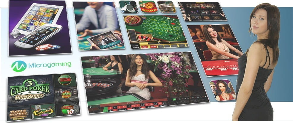 Image showing Microgaming's various card and table games