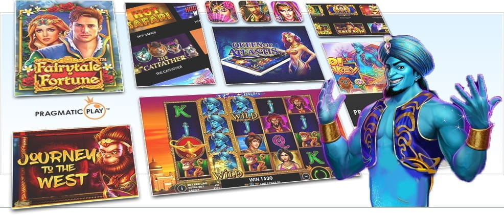 Image showing Pragmatic Play's various slot games