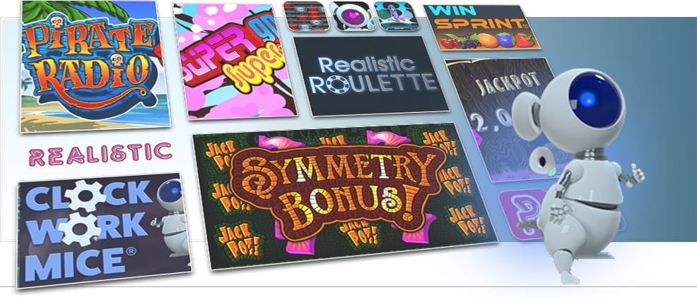 Image showing Realistic Games various card and table games