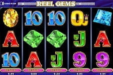 Preview of the Reel Gems slot at Casino Room
