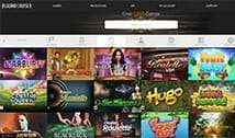 The Casino Cruise game library.