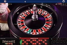 Immersive Roulette live at Casino Heroes