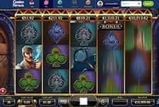 The Sherlock Holmes themed slot at Casino Heroes