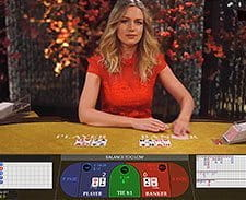 An image of a live roulette game at Casumo.