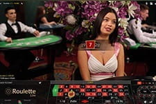 Live Roulette at Casumo