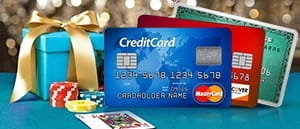 An image showing credit cards and a bonus package.