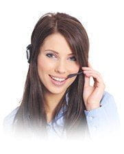 Image of a customer service representative