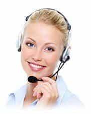 Image of a customer service representative