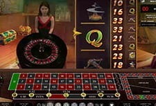 Play Live Da Vinci's Treasure Roulette at Pots of Luck Casino