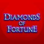 The Diamonds of Fortune slot game logo