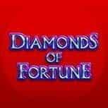 The Diamonds of Fortune slot game logo