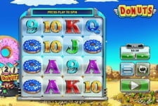 The Big Time Gaming slot title, Donuts.