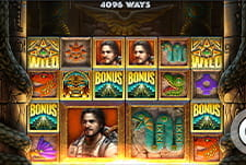Play Ecuador Gold slot at Simba Games casino
