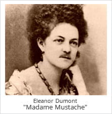 Eleanor Dumont, Otherwise Known as Madame Mustache was a Skilled Dealer of 21