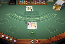 A game of European Blackjack at Spinit casino.