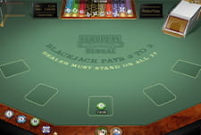 Play European Redeal Blackjack at Luxury Casino