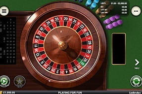 Play European Roulette on Ladbrokes mobile