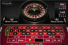 An image of Euorpean Roulette on a mobile device.
