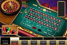 In-game view of European Roulette at Spinit