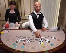 Preview of Live Blackjack at Betway Casino