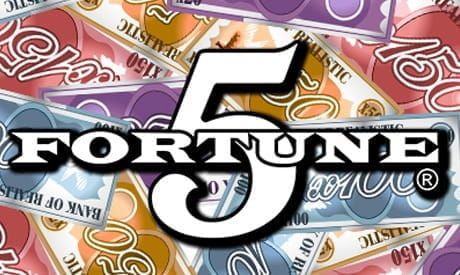 Image showing the Fortune 5 slot game logo
